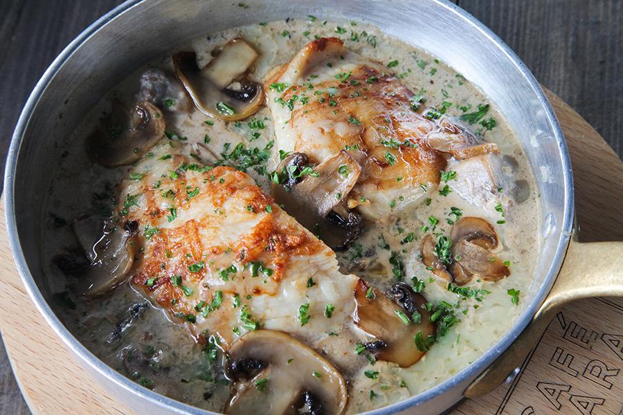 Baked Chicken Mushroom