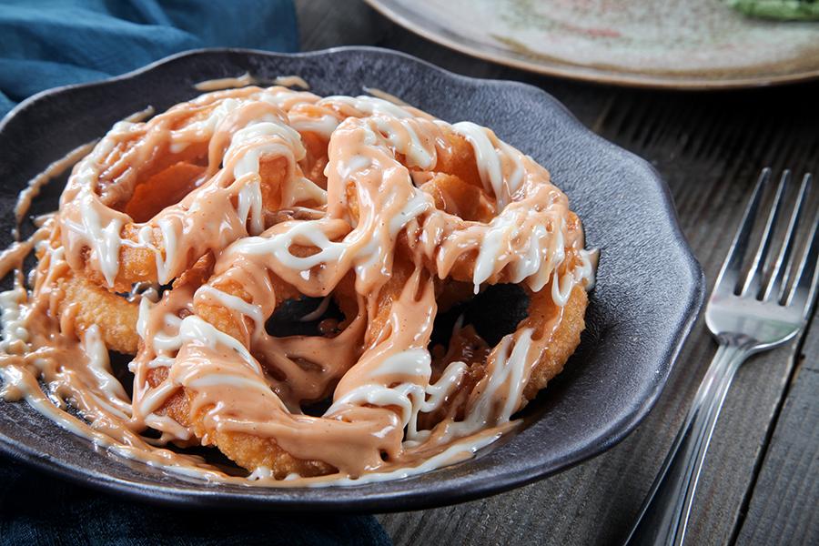 Crespy Onion rings