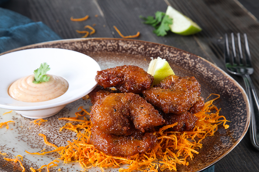 Jalapeno Glazed Shrimp