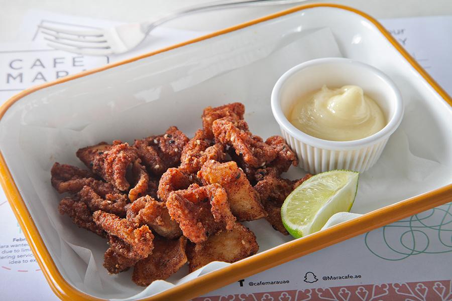 Sichimi Spiced Calamari